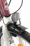 """Flickcykel 3- vxl, 24"""" Vit/Cerise"""